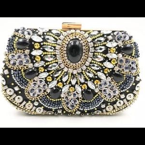 Small pretty sequence luxurious clutch